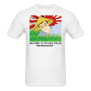 WELCOME TO THE RICE FIELDS MEN - Men's T-Shirt