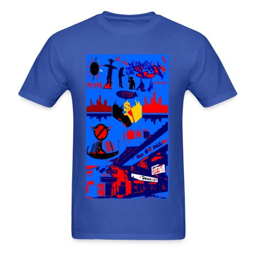 chi-city seaon 2 color - Men's T-Shirt