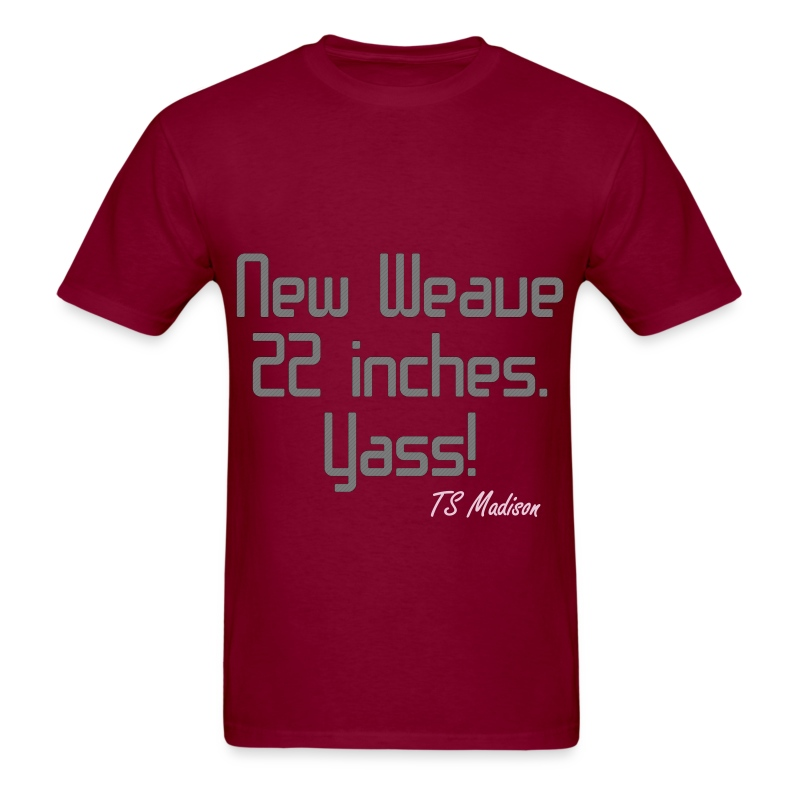 New Weave 22 inches yass. - Men's T-Shirt