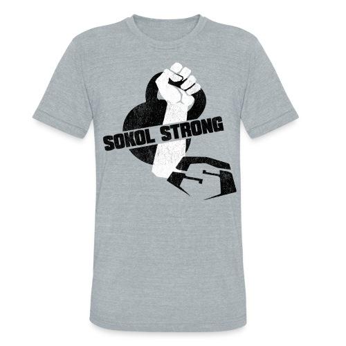 Sokol Strong Bell LT [m] - Unisex Tri-Blend T-Shirt