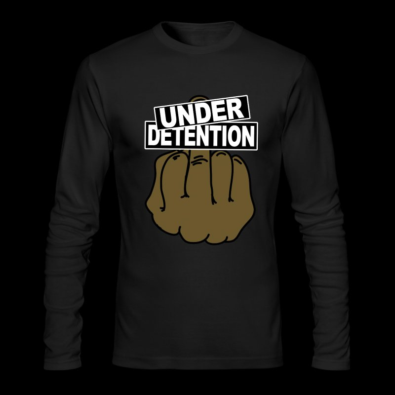 UD Big Finger Sweatshirt - Men's Long Sleeve T-Shirt by Next Level