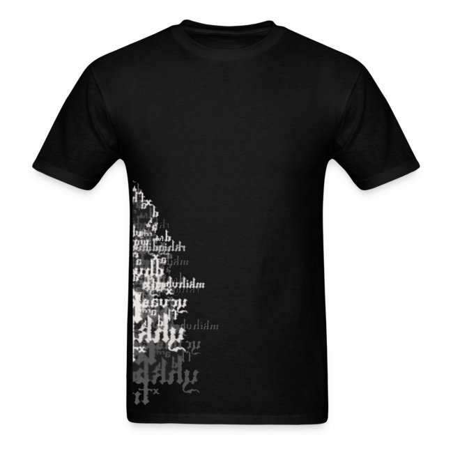 Text Collage T-shirt