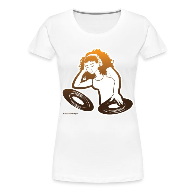Lady Deejay Tee White