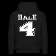 Hoodies ~ Men's Hoodie ~ Hale 4 Front and Back
