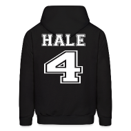 Hoodies ~ Men's Hoodie ~ Hale 4 Front and Back