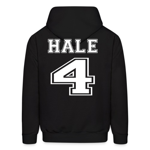 Hale 4 Front and Back - Men's Hoodie