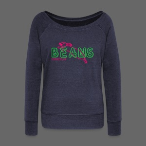Beans Saginaw Michigan - Women's Wideneck Sweatshirt