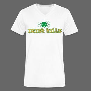 Irish Hills - Men's V-Neck T-Shirt by Canvas