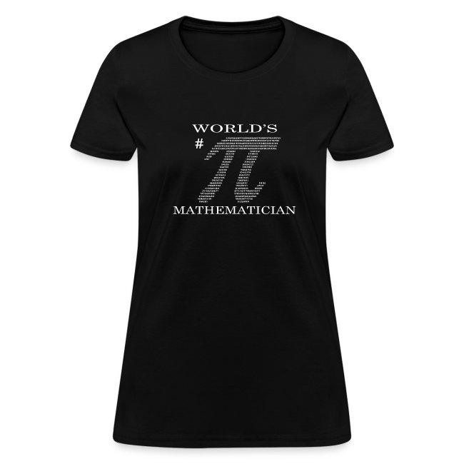 World's # Pi Mathematician (Women's)