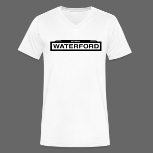 Waterford - Men's V-Neck T-Shirt by Canvas