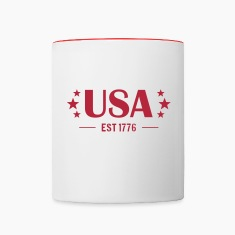 USA Established 1776 Bottles & Mugs