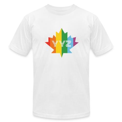 YYZ/Pride Maple Leaf Tee - Men's Fine Jersey T-Shirt
