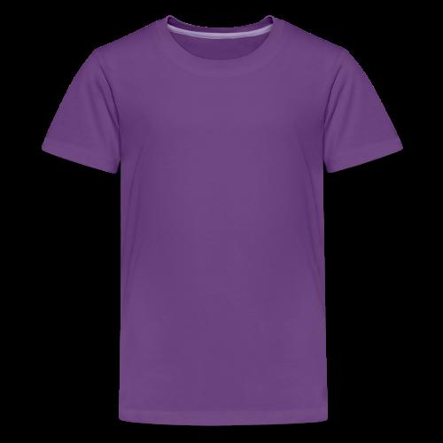 plain choose size and color - Kids' Premium T-Shirt