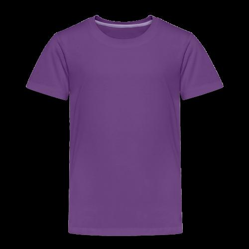 plain choose size and color - Toddler Premium T-Shirt