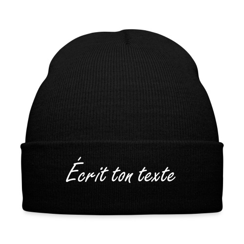 Tuque  - Knit Cap with Cuff Print