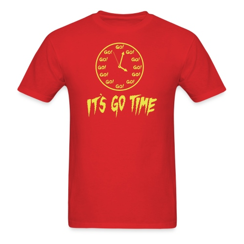 It's Go Time Yellow Ink - Men's T-Shirt