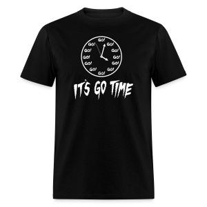 It's Go Time White Ink - Men's T-Shirt