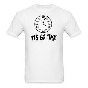 It's Go Time Black Ink - Men's T-Shirt