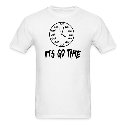 It's Go Time Black Ink - Men's T-Shirt
