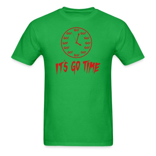 It's Go Time Red Ink - Men's T-Shirt