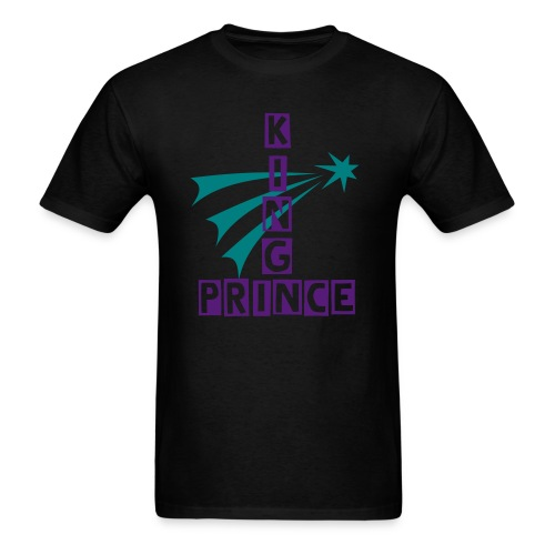 King Prince Fireworks - Men's T-Shirt