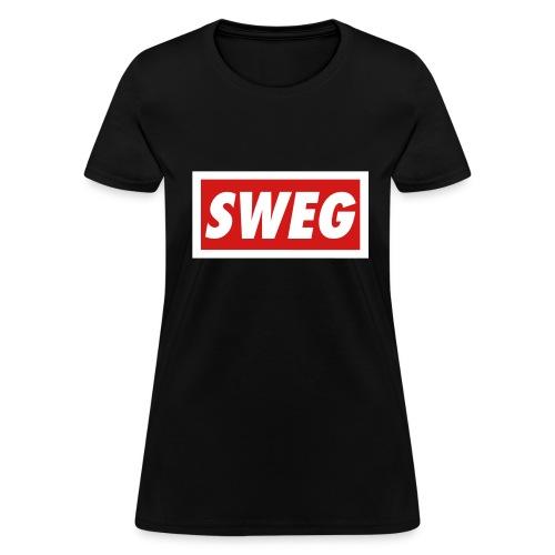SWEG (parodie) - Femme - T-shirt pour femmes