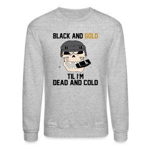 Black and Gold Hockey - Crewneck Sweatshirt