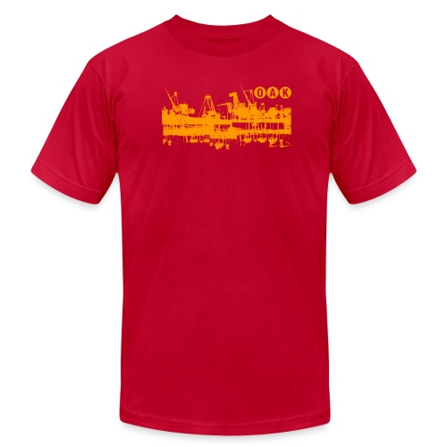 Oakland Docks - Men's Fine Jersey T-Shirt