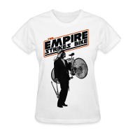 Women's T-Shirts ~ Women's T-Shirt ~ The Empire Strikes Bike Women