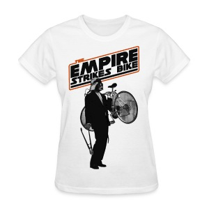 The Empire Strikes Bike Women - Women's T-Shirt