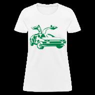 Women's T-Shirts ~ Women's T-Shirt ~ BTTF Gullwing Door Women