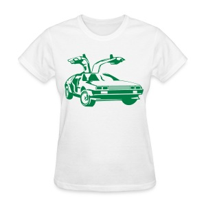 BTTF Gullwing Door Women - Women's T-Shirt