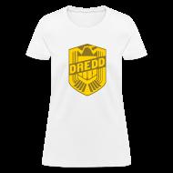 Women's T-Shirts ~ Women's T-Shirt ~ Dredd Eagle logo Women