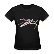 T-Shirts ~ Women's T-Shirt ~ SKYF-01-020 xwing-01 Wars Women