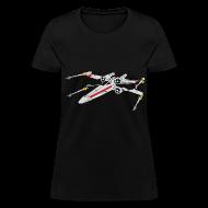 Women's T-Shirts ~ Women's T-Shirt ~ SKYF-01-020 xwing-01 Wars Women
