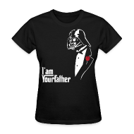 T-Shirts ~ Women's T-Shirt ~ SKYF-01-029 Darth Vader father tuxedo Women