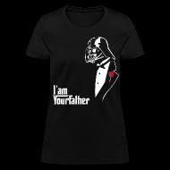 Women's T-Shirts ~ Women's T-Shirt ~ SKYF-01-029 Darth Vader father tuxedo Women