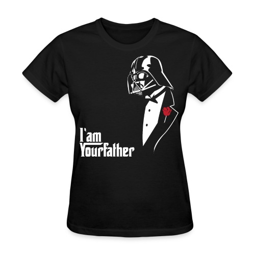 SKYF-01-029 Darth Vader father tuxedo Women - Women's T-Shirt