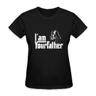 T-Shirts ~ Women's T-Shirt ~ SKYF-01-030 Darth Vader iam your father Women