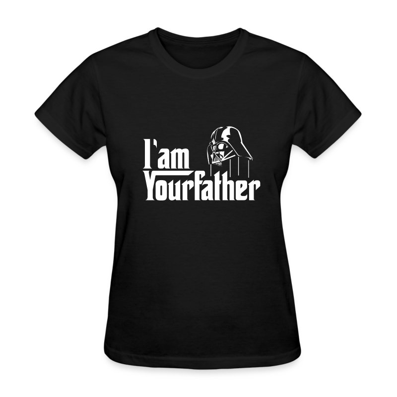 SKYF-01-030 Darth Vader iam your father Women - Women's T-Shirt