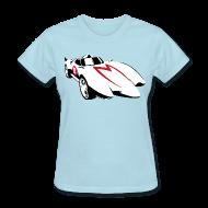Women's T-Shirts ~ Women's T-Shirt ~ SKYF-01-032 speedracer Mach 5 Women