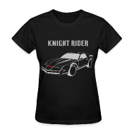 Women's T-Shirts ~ Women's T-Shirt ~ SKYF-01-034 knight rider car Women
