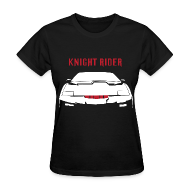 Women's T-Shirts ~ Women's T-Shirt ~ SKYF-01-035 KnightRider lightreflect Women
