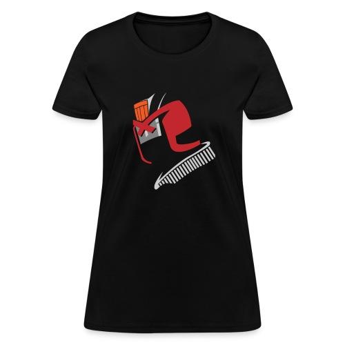 SKYF-01-039-dredd Helm no face Women - Women's T-Shirt