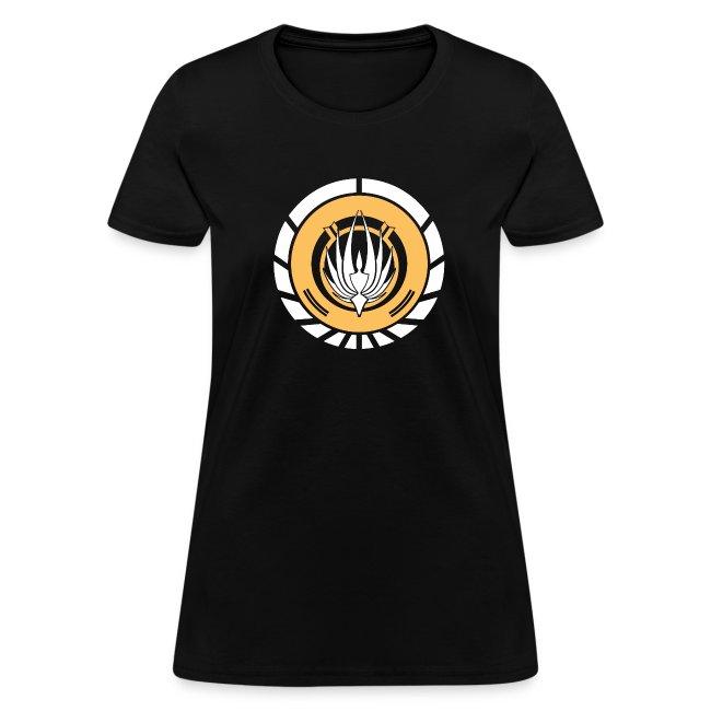 SKYF-01-050 Battlestar Galactica Emblem Women