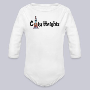 City Heights  - Long Sleeve Baby Bodysuit