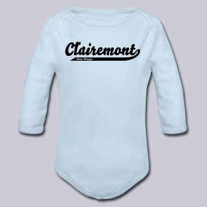 Clairemont San Diego  - Long Sleeve Baby Bodysuit