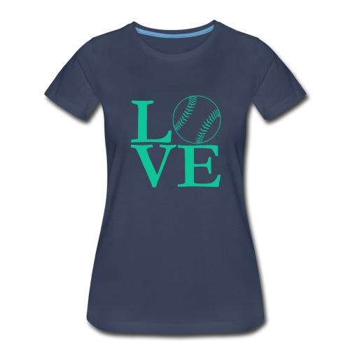Love baseball tee - Women's Premium T-Shirt