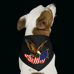 4th Eagle Flag - Dog Bandana
