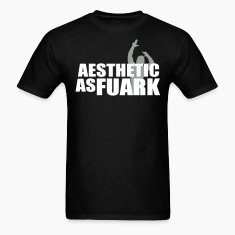 Zyzz Aesthetic as FUARK T-Shirts
